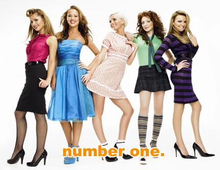 girls aloud number one