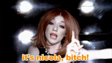 it's nicola bitch (nicola roberts, girls aloud)