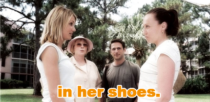 in her shoes: toni collette, shirley maclaine, mark feuerstein, cameron diaz