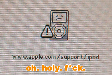 dead ipod