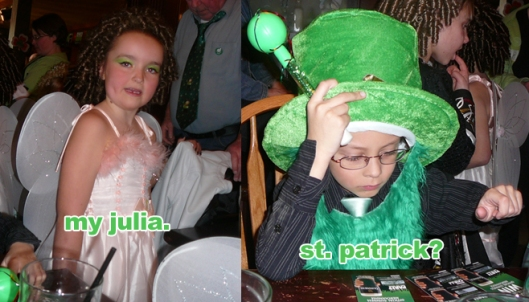 st. patrick's day: the children