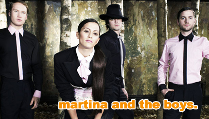 dragonette: martina and the boys