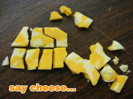 cheese map of canada