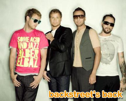 backstreet boys: backstreet's back