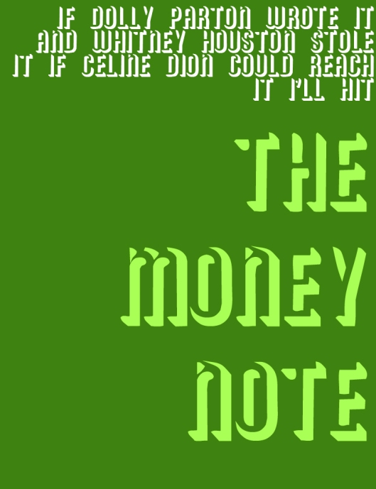 the money note