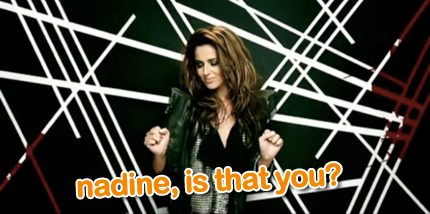 cheryl cole: fight for this love - nadine coyle?