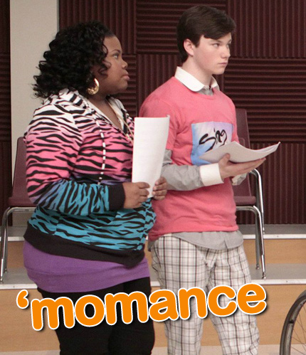 glee: mercedes and kurt, momance