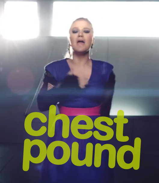 Kelly Clarkson, People Like Us: chest pound