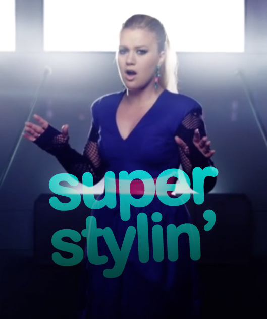 Kelly Clarkson, People Like Us: super stylin'